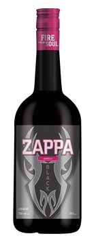 Picture of Zappa Sambuca Black Bottle 750ml