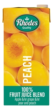 Picture of Rhodes Peach 100% Juice Pack 1l