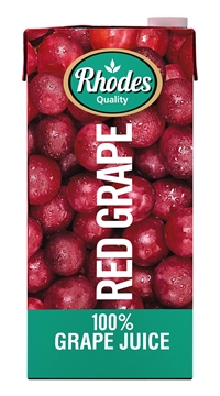 Picture of Rhodes Red Grape 100% Juice Pack 1l