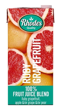 Picture of Rhodes 100% Ruby Grapefruit Juice 1L