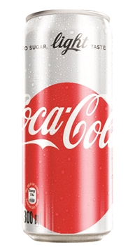 Picture of COCA COLA LIGHT 24X300ML CAN
