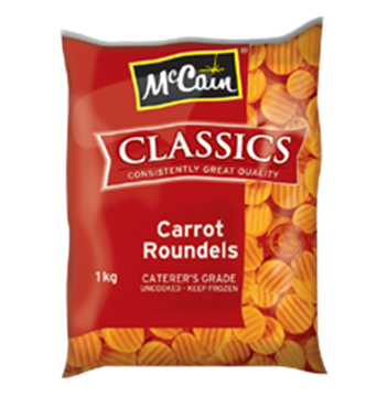 Picture of McCain Frozen Round Carrots Pack 1kg