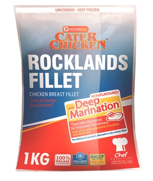 Picture of Rocklands Frozen Chicken Fillets 1kg Pack