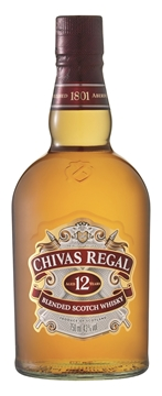 Picture of Chivas Regal 12 Year Blended Scotch Whisky 750ml