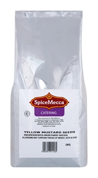 Picture of Spice Mecca Yellow Mustard Seeds Pack 1kg