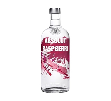 Picture of Absolut Raspberri Vodka Bottle 750ml