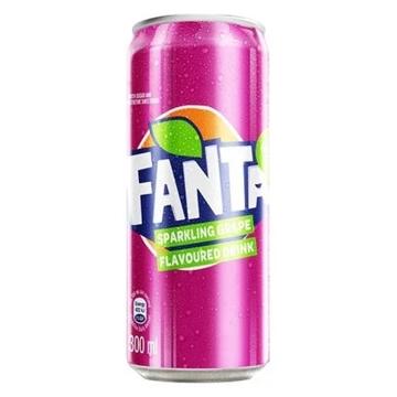 Picture of FANTA GRAPE 24X300ML CAN