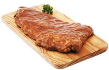 Picture of Caterclassic Frozen Marinated Pork Belly Ribs 10kg