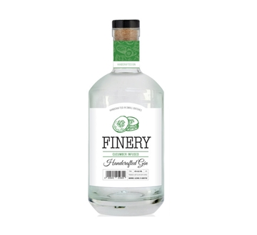 Picture of Finery Cucumber Gin Bottle 750ml