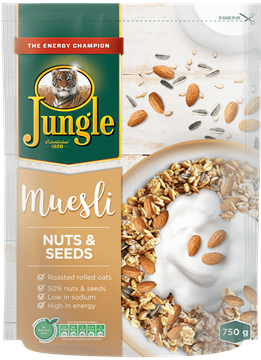 Picture of Jungle Nuts & Seeds Muesli Cereal 750g