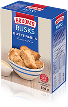 Picture of Bokomo Butterlik Rusk Pack 500g