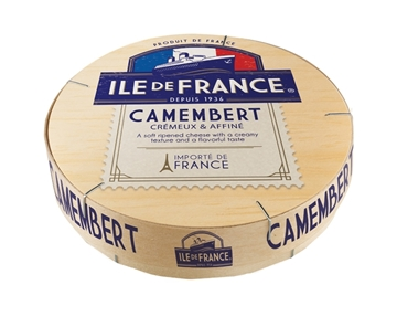 Picture of CHEESE SOFT CAMEMBERT ILE DE FRANCE 125G PACK