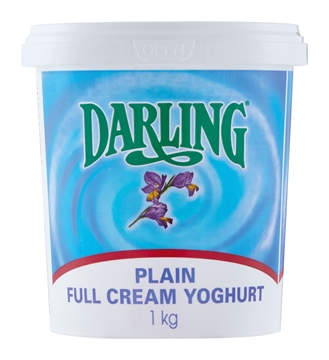 Picture of Darling Full Cream Plain Yoghurt 1kg
