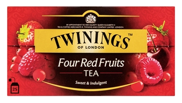 Picture of Twinnings 4 Red Fruits Teabags 25s