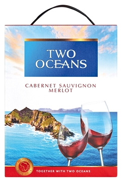 Picture of CAB SAUV/MERLOT TWO OCEANS 3L BOX