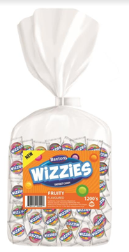 Picture of Baxtons Fruity Wizzies Sweets Bag 1200