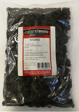 Picture of Caterclassic Medium Seedless Dried Raisins 1kg