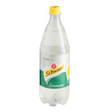 Picture of Schweppes Lemonade Soft Drink Bottle 1L