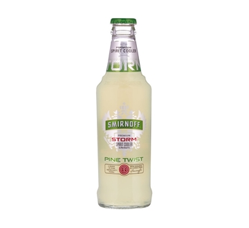 Picture of Smirnoff Storm Pine Twist Cooler Bottle 24 x 300ml
