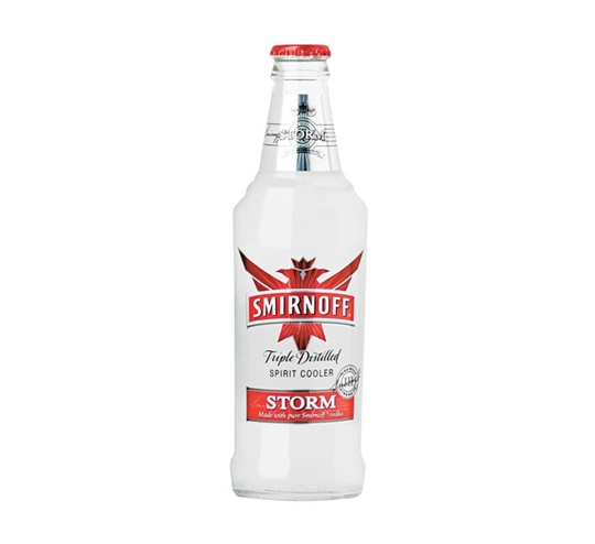 Picture of Smirnoff Storm Bottle 24 x 300ml