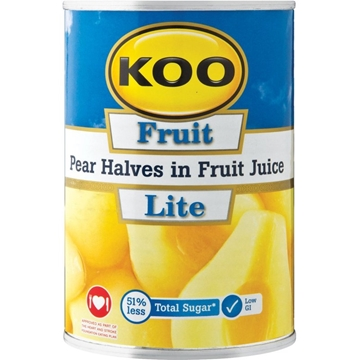 Picture of Koo Lite Pear Halves Can 410g