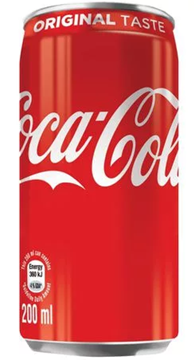 Picture of Coca Cola Original Soft Drink Cans 6 x 200ml