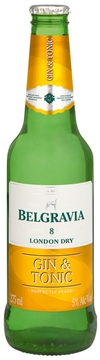 Picture of Belgravia Gin & Dry Tonic Bottle 24 x 275ml