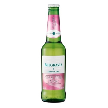 Picture of Belgravia Gin & Pink Tonic Bottle 24 x 275ml