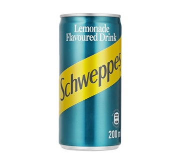 Picture of Schweppes Lemonade Soft Drink Cans 6 x 200ml