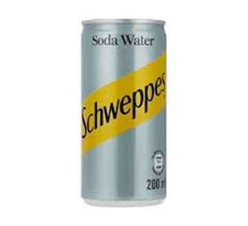 Picture of Schweppes Soda Water Can 6 x 200ml