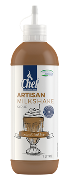 Picture of Artisan Peanut Butter Milkshake Syrup Bottle 1l