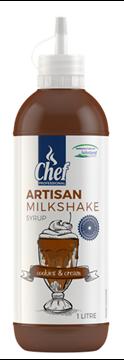 Picture of Artisan Cookies & Cream Milkshake Syrup Bottle 1l