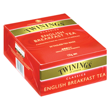 Picture of Twinings English Breakfast Teabags 100s