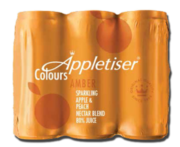 Picture of APPLETISER PEACH 6X330ML CAN