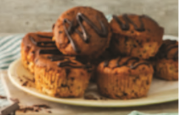 Picture of FRZ MUFFIN CHOC CHIP GLUTEN FREE 16X70G PACK