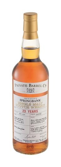 Picture of PBC Springbank 23Yr Single Malt Whisky 750ml