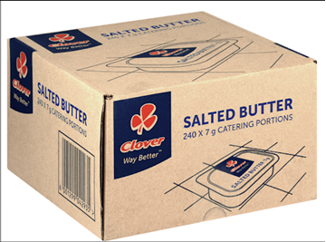 Picture of Clover Butter Portions Box 240 x 7g
