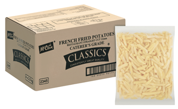 Picture of McCain Restaurant Frozen Chips 12mm Box 4 x 2.5kg