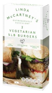 Picture of Linda McCartney Froz Veg 1/4 Pound Burger 2 x 113g