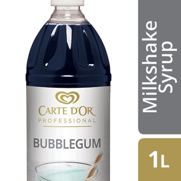 Picture of Carte D'or Bubblegum Milkshake Syrup Bottle 1l