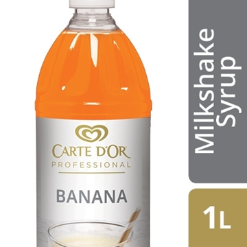 Picture of Carte D'or Banana Milkshake Syrup Bottle 1l