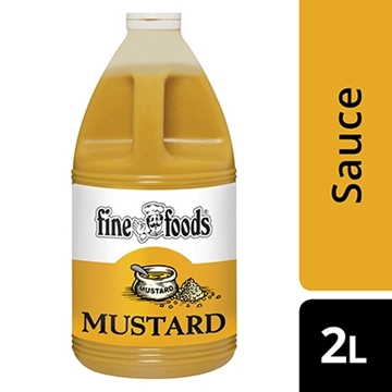 Picture of Fine Foods Mustard Sauce Bottle 5l