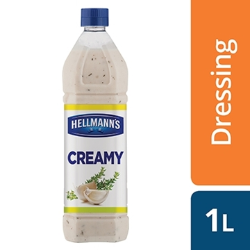 Picture of Hellmanns Creamy Salad Dressing Bottle 1l
