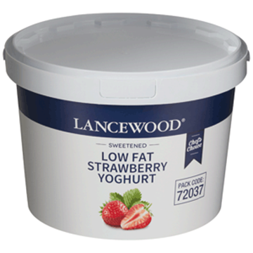 Picture of Lancewood Strawberry Low Fat Yoghurt 5l