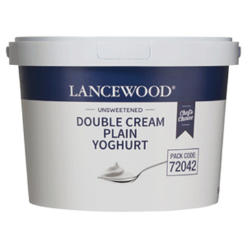 Picture of Lancewood Plain Double Cream Yoghurt Bucket 5l