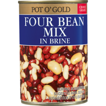 Picture of 4 BEAN MIX POT O GOLD 400G CAN