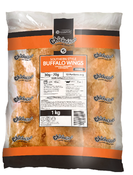 Picture of Chickentizers Froz Orig Buffalo Chicken Wings 6kg