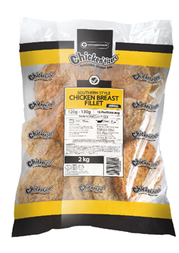 Picture of Chickentizers Froz Fillet Chicken Burger 6kg