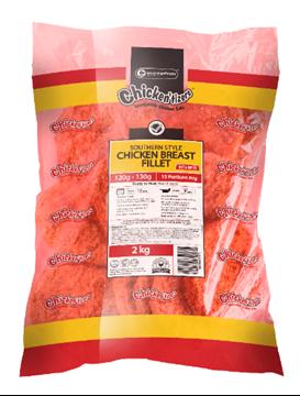 Picture of Chickentizers Frozen Spicy Chicken Burger 6kg