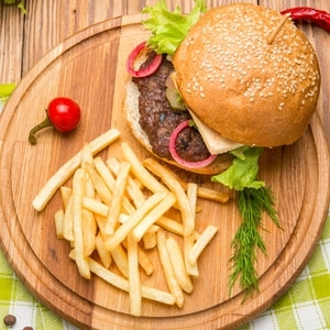 Picture for category BURGER & CHIPS